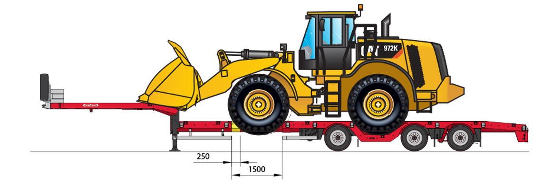 OSDS-48-03V(EBW) with CAT 972 Wheel loader