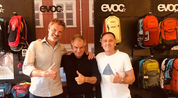 Preview: Das Münchner Unternehmen EVOC übernimmt den Schweizer Fahrrad-Transporttaschen-Hersteller Tranzbag