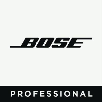 Bose Professional sala de prensa