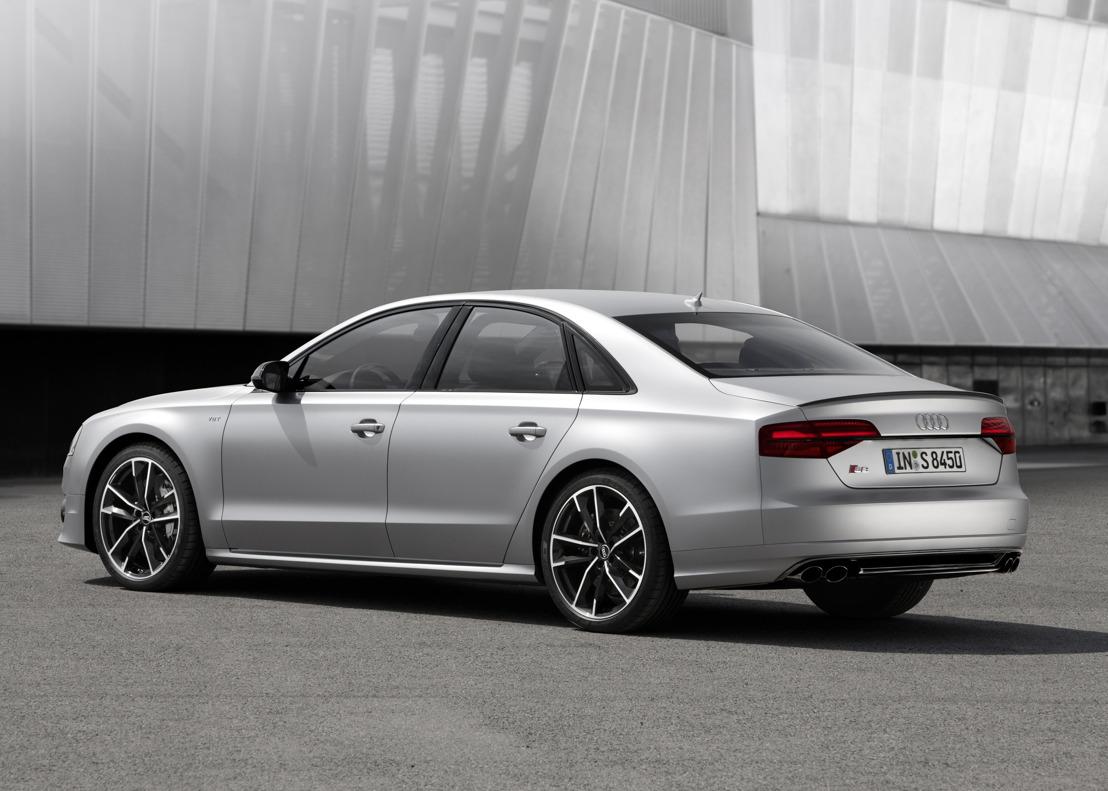 Superlatieve sportiviteit: de nieuwe Audi S8 plus