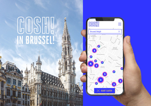 COSH! Conscious Shopping made easy now also in Brussels
