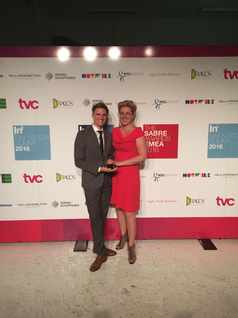 SABRE Awards EMEA Benelux Campaign