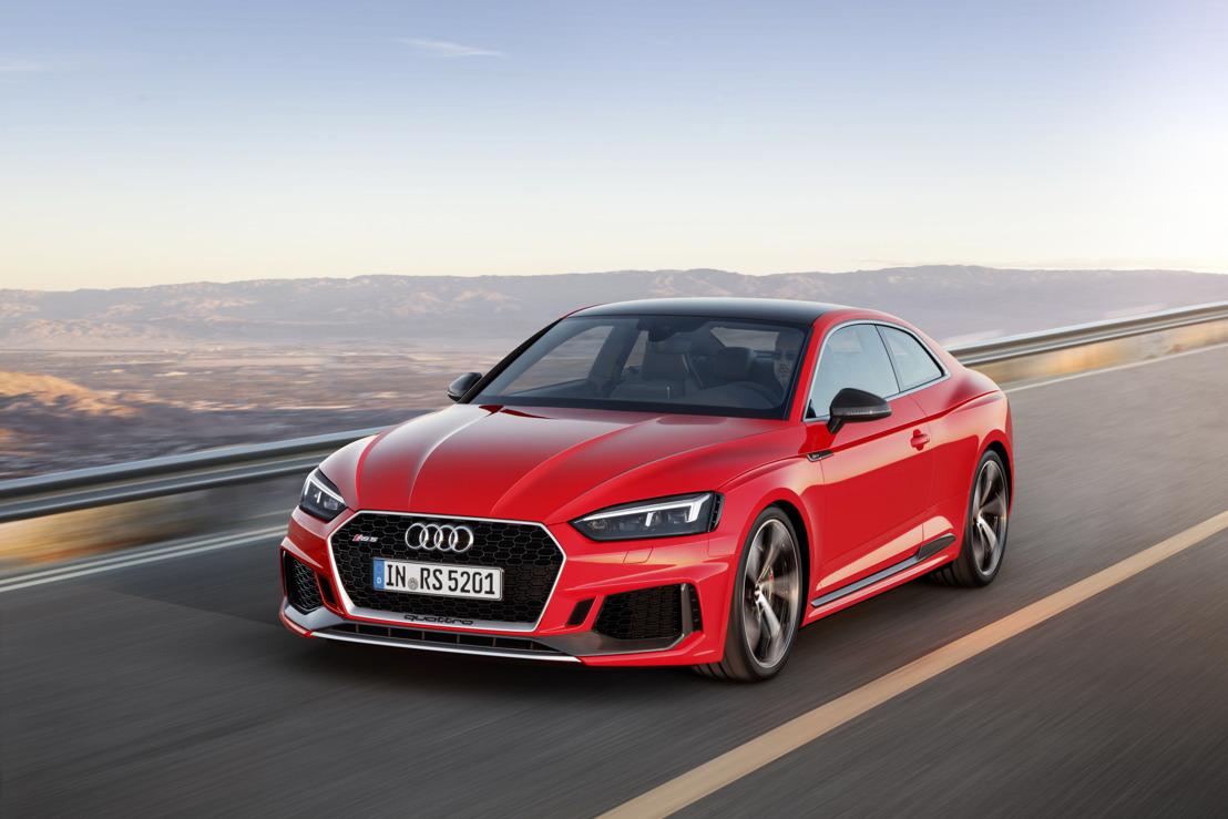 De nieuwe Audi RS 5 Coupé