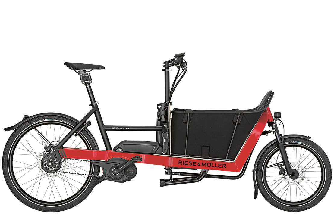 Compact e-cargo bike, perfect for individual commuter, errands, small family