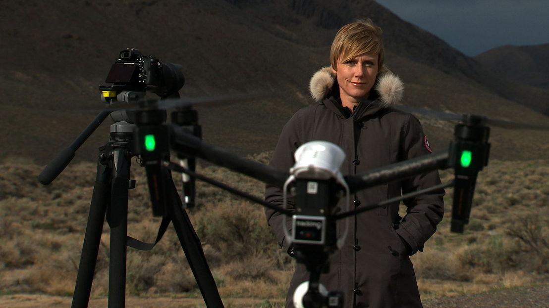 Zoe Daniel & drone