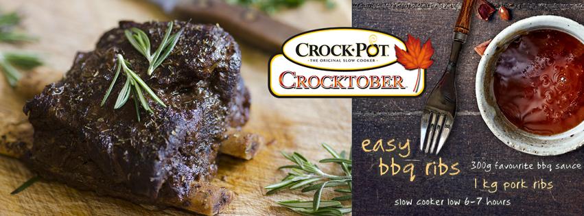 Crocktober - Easy BBQ Ribs