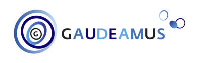 Gaudeamus perskamer Logo