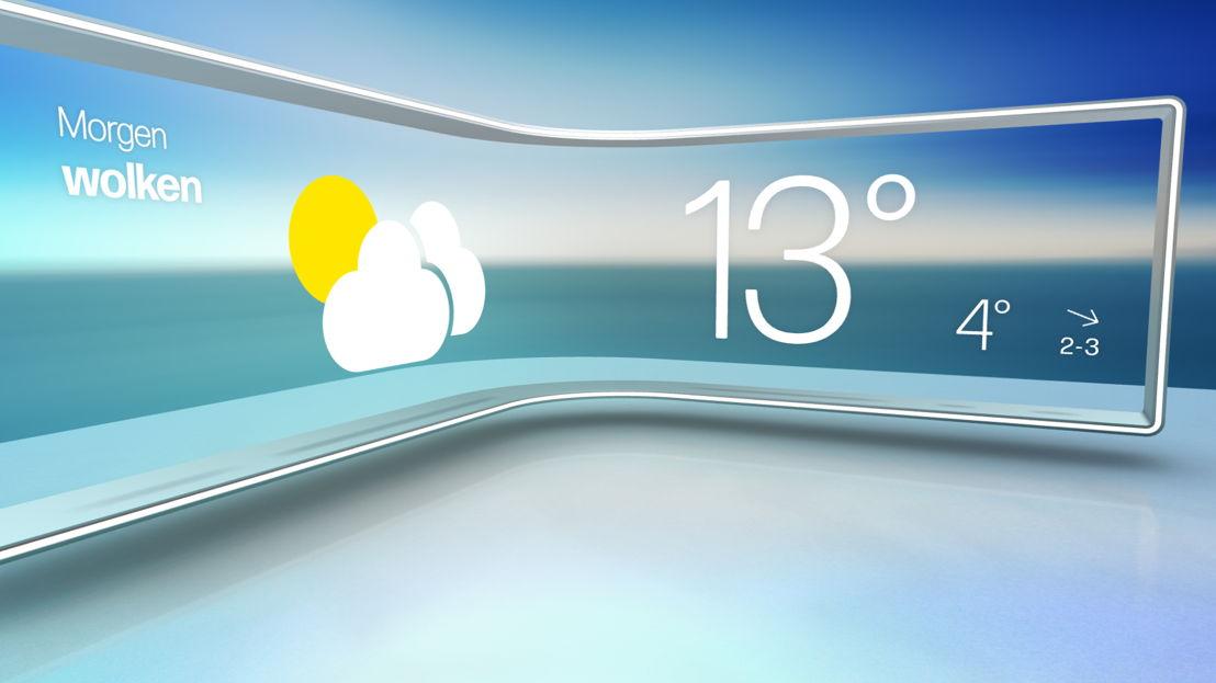 Het weer (c) VRT