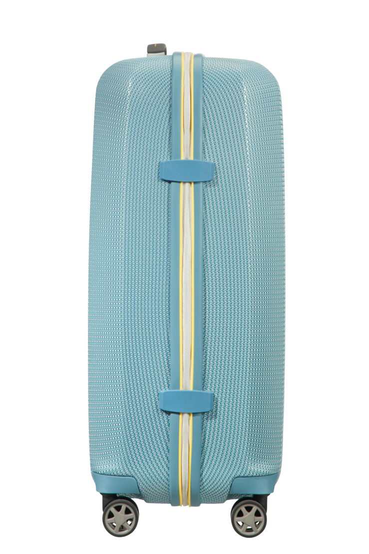 Samsonite_MIXMESH_Spinner 69_Niagara Blue/Yellow