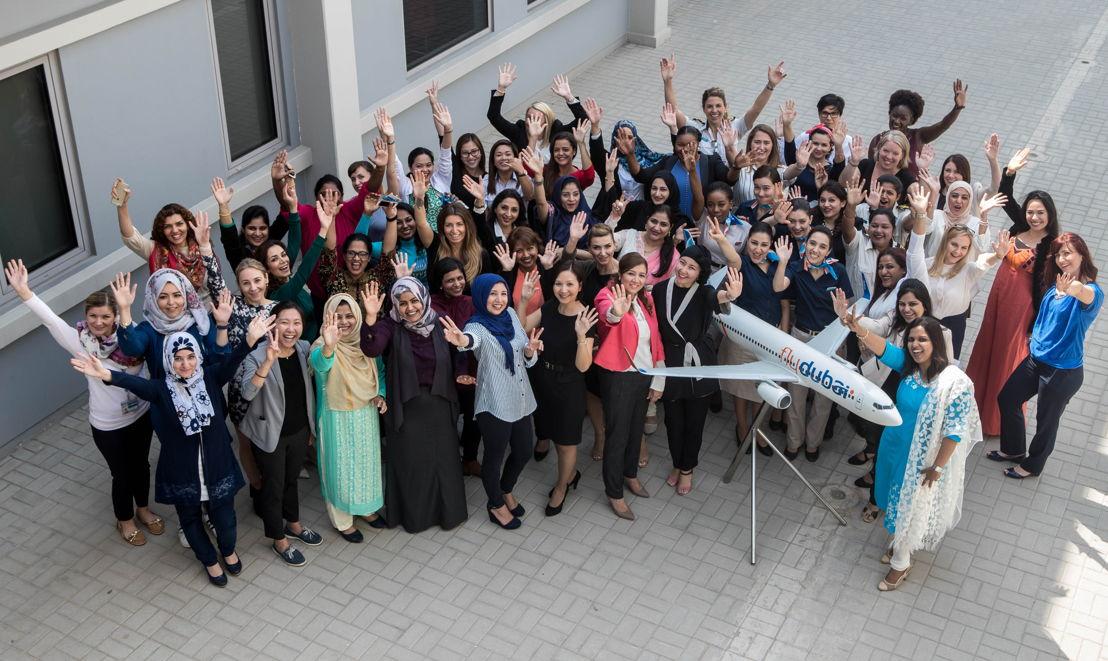 flydubai празднует Международный женский день