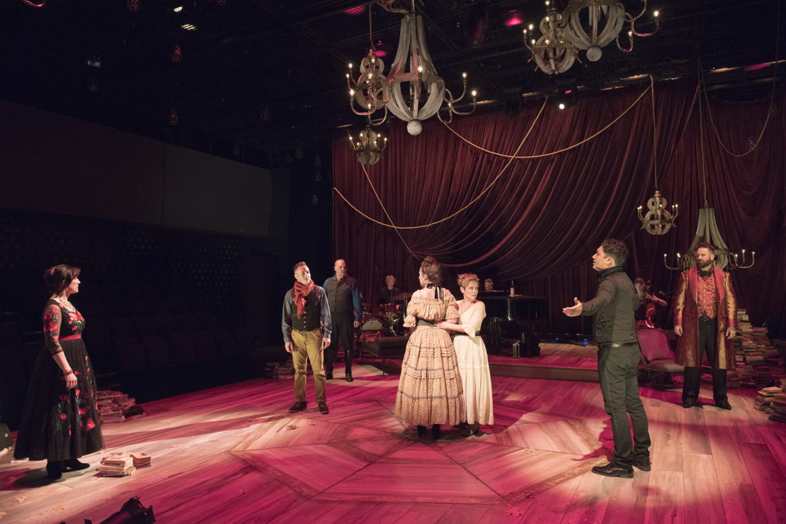 Cast of Onegin. Photo by David Cooper.