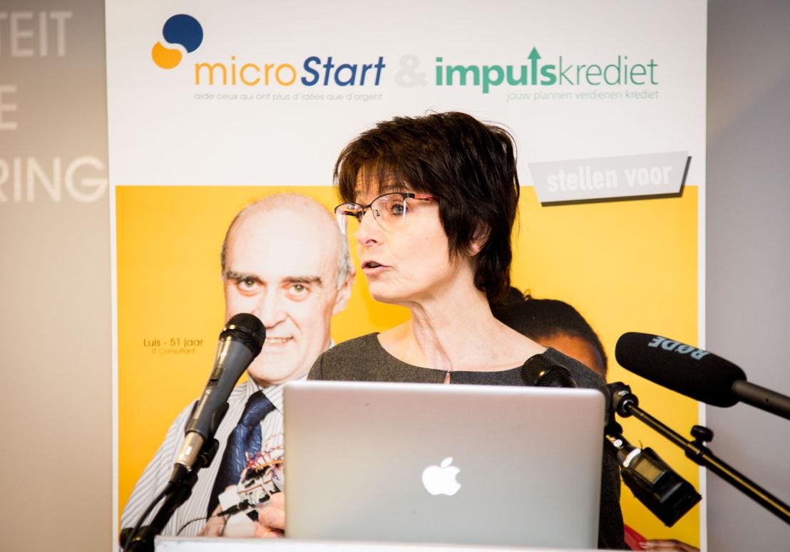 Marianne Thyssen, Europese Commissaris voor Werkgelegenheid, Sociale Zaken, Vaardigheden en Arbeidsmobiliteit ©Natalie Hill