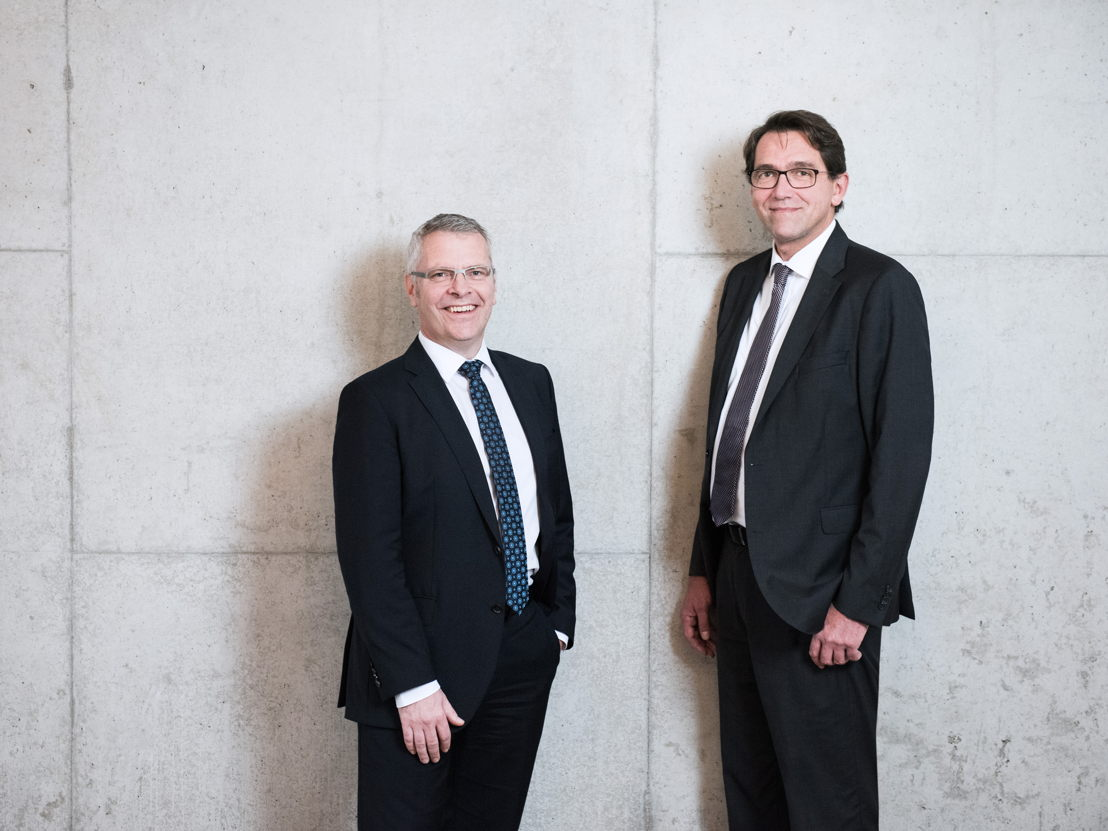 The new CEO Bernd Krüper (on the left) together with CFO Thomas Lehner are the management at Hatz