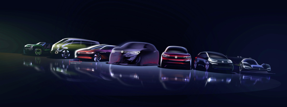 The ID. family is growing: In Shanghai a new concept car shows the electric full-size SUV of the future