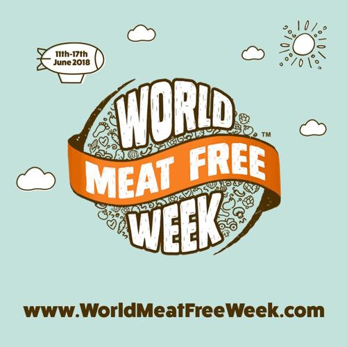 Avis à tous les mangeurs de viande : un repas végétarien pour le bien de notre planète lors de la World Meat Free Week, du 11 au 17 juin 2018 !