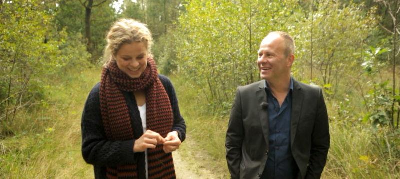 Karakters - Kim Clijsters en Ben Crabbé - (c) VRT - deMENSEN