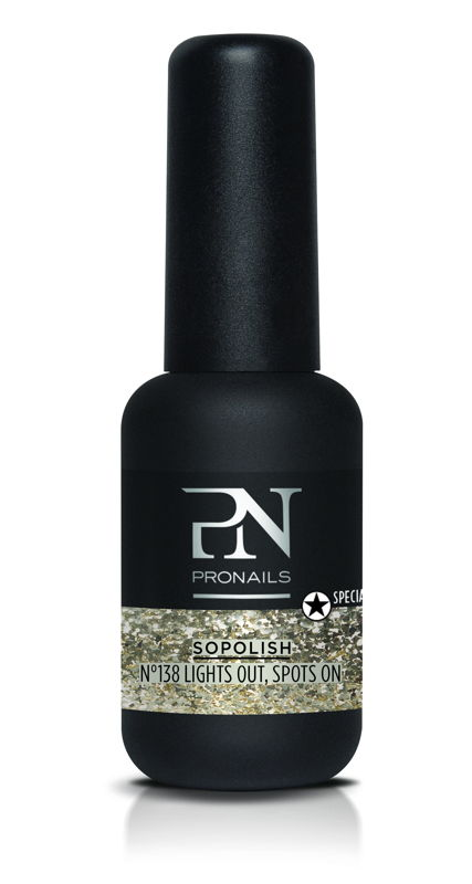 Sopolish 'Lights Out Spots On' uit Own The Night' collectie - salonbehandeling