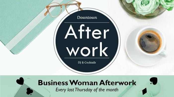 Uitnodiging Business Women Afterwork - donderdag 26 oktober