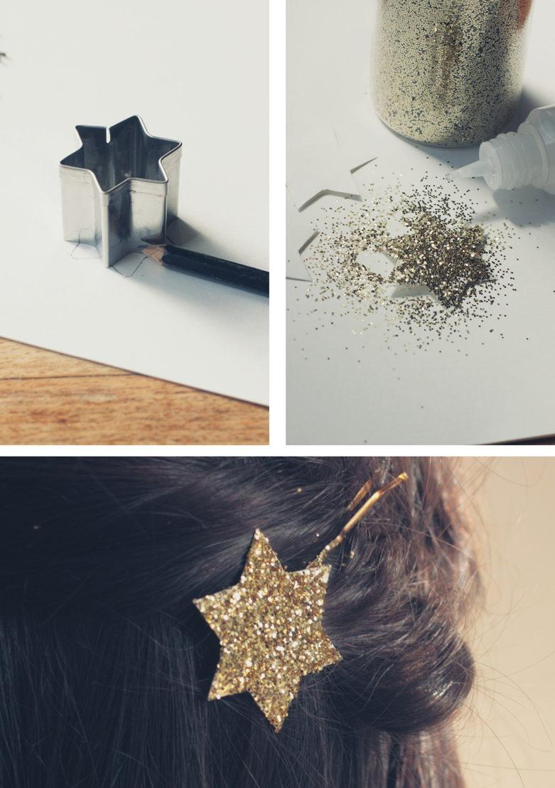 Lay's Oven Stars DIY Starry Hairpin