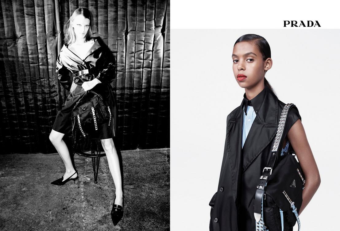 Prada Presenta Campaña Publicitaria Primavera/Verano 2018 Para Mujer: Black Nylon