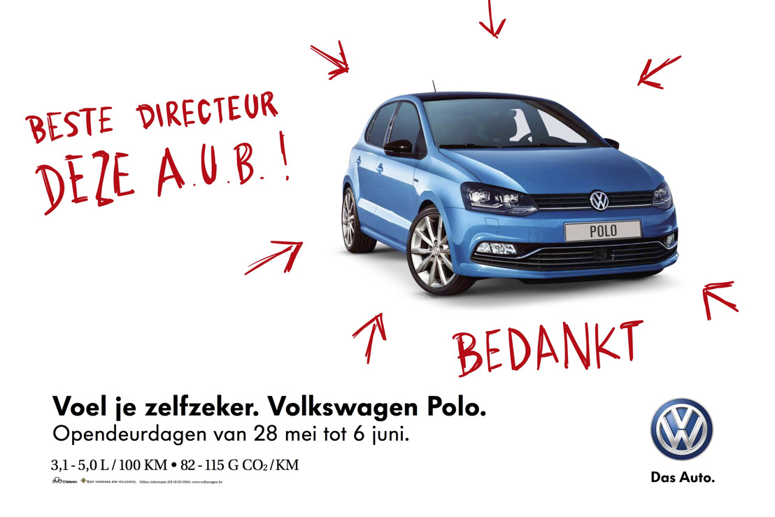 Volkswagen Polo and DDB believe in self-confidence.