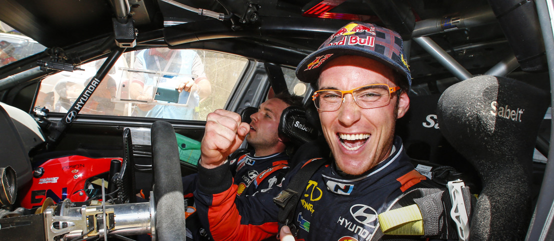 Thierry Neuville ends the season as Vice World Champion and on the Australian podium