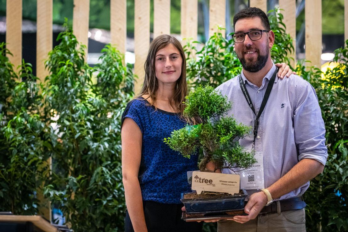 1.2.Tree Award Winnaar Privaat project: Valérie Cools, Stefan Haerinck  © Green