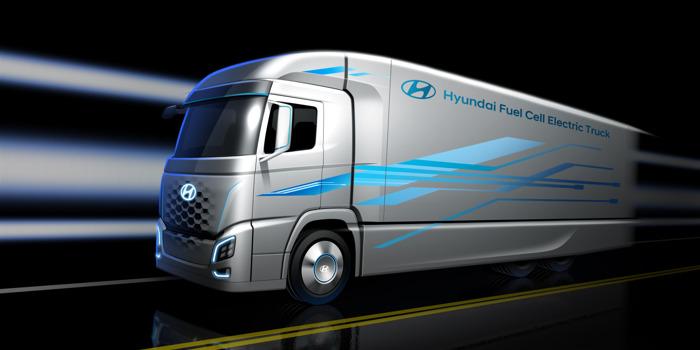 Hyundai toont eerste glimp van nieuwe truck met brandstofcel, mededeling in aanloop naar IAA Commercial Vehicles 2018