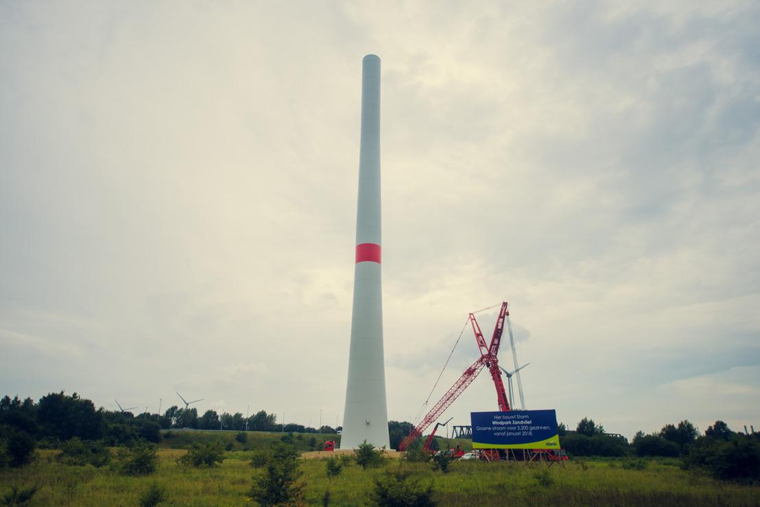 Open werf Storm-windpark Zandvliet