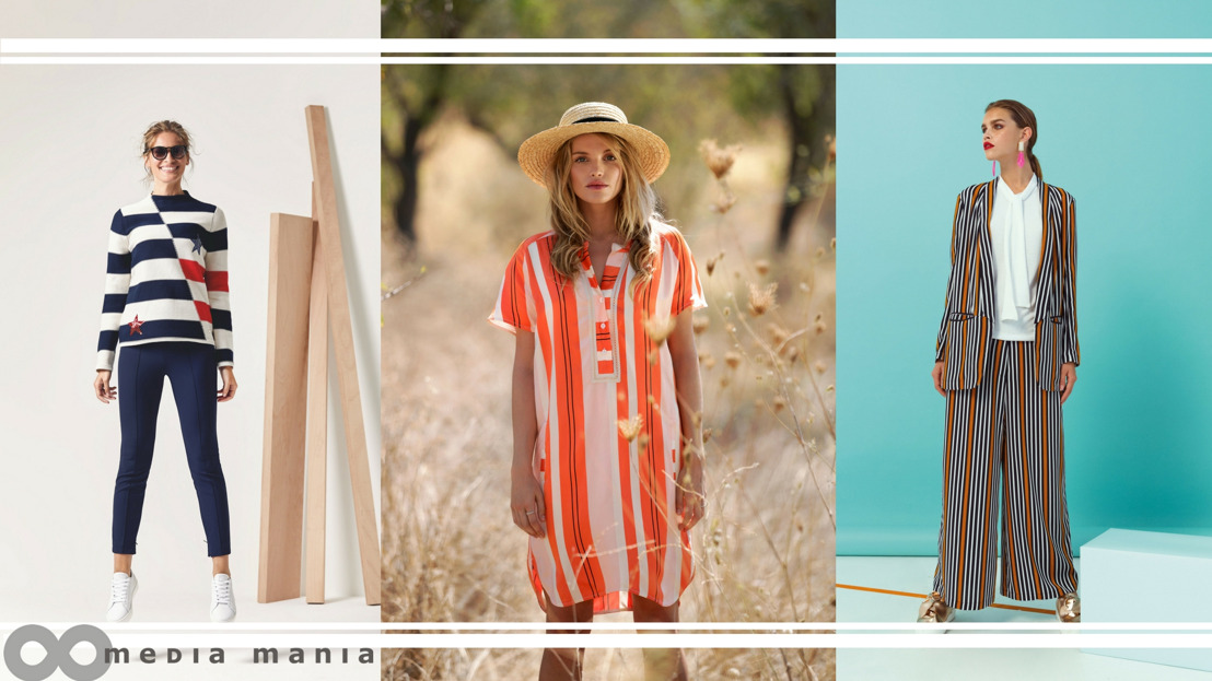 Trends Women SS18 : Rainbow Stripes