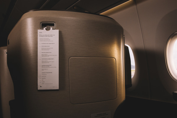Preview: Five tips to enjoy the Cathay Pacific Business Class dining experience