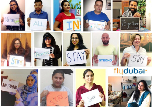 flydubai says thank you to you