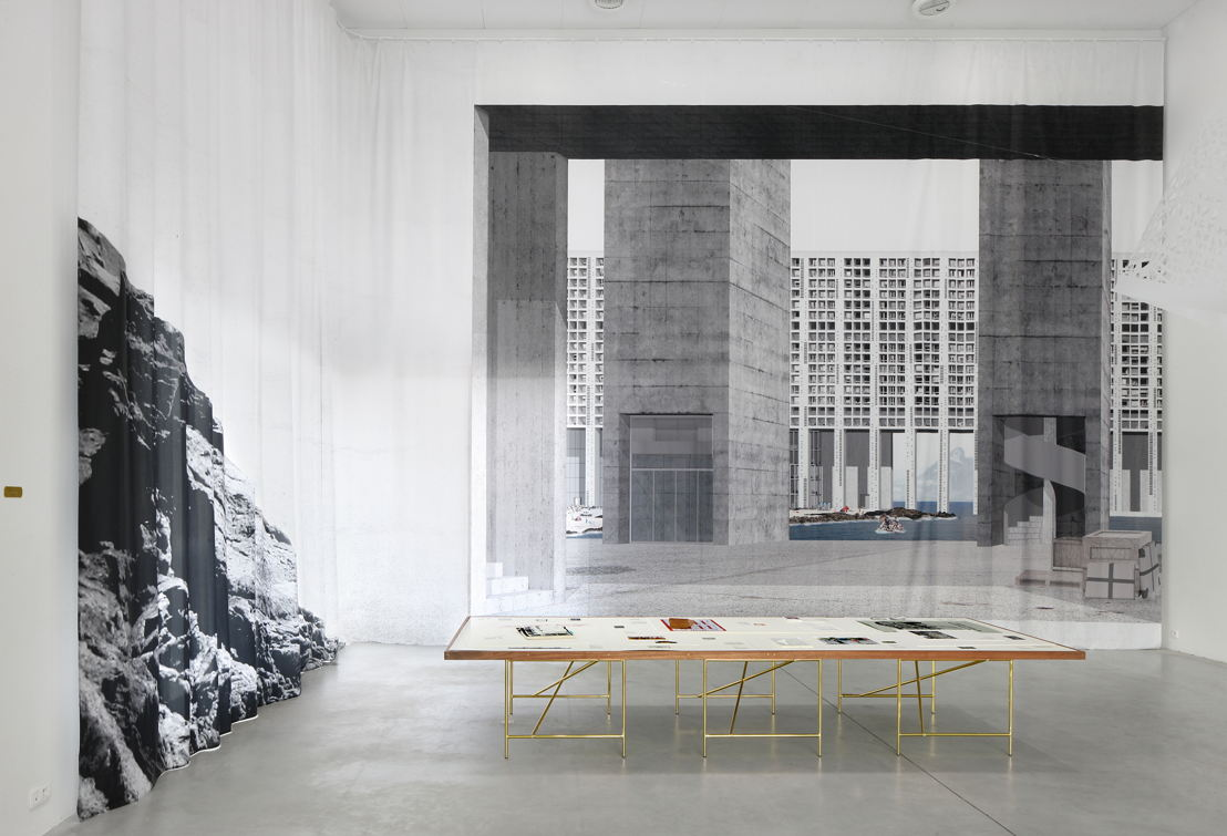 Installation view &#039;EUtopia&#039; at M-Museum Leuven<br/>Photo: Filip Dujardin