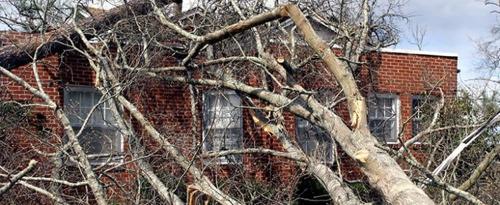 Nombre record de dossiers de sinistres causés par des tempêtes en 2020