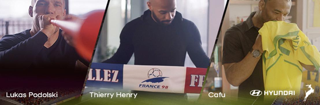 """""""Hyundai World Football Heritage"""" le da a los fanáticos del futbol la oportunidad de asistir a la final de la Copa del Mundo de la FIFA Rusia 2018™"""