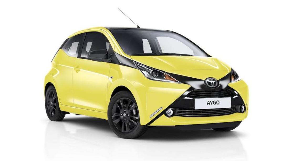 UPDATE - Toyota Aygo Productie Mei