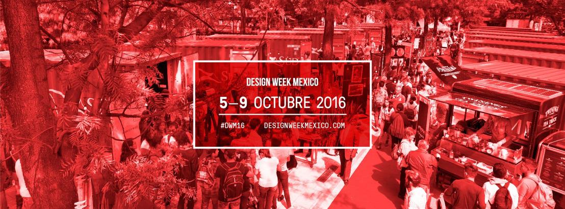 Design Week México - Acreditación de Prensa