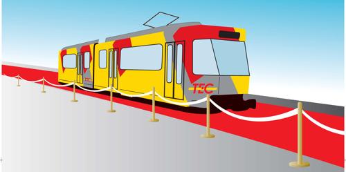La priorité du tram : assurer votre sécurité et celle des autres