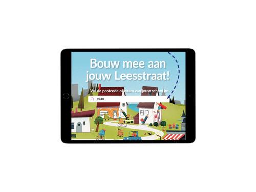 Averbode en Bonka Circus leggen leesstraten aan in België