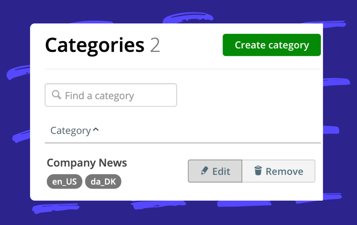 Help: Categorizing your Stories