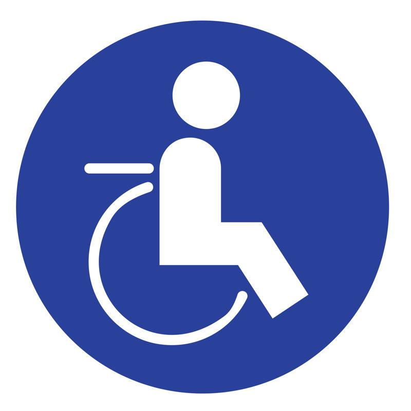 Icoon: deze halte is toegankelijk voor mensen met een mobiele beperking.  De helling naar het voertuig is niet groter dan 12 %.