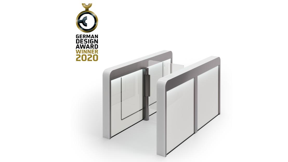 German Design Award 2020 für Sensorschleuse Argus von dormakaba
