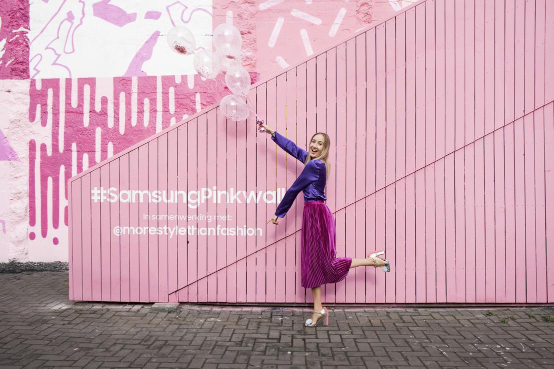 Nederland krijgt eigen Pink Wall op Rotterdamse Hofbogen