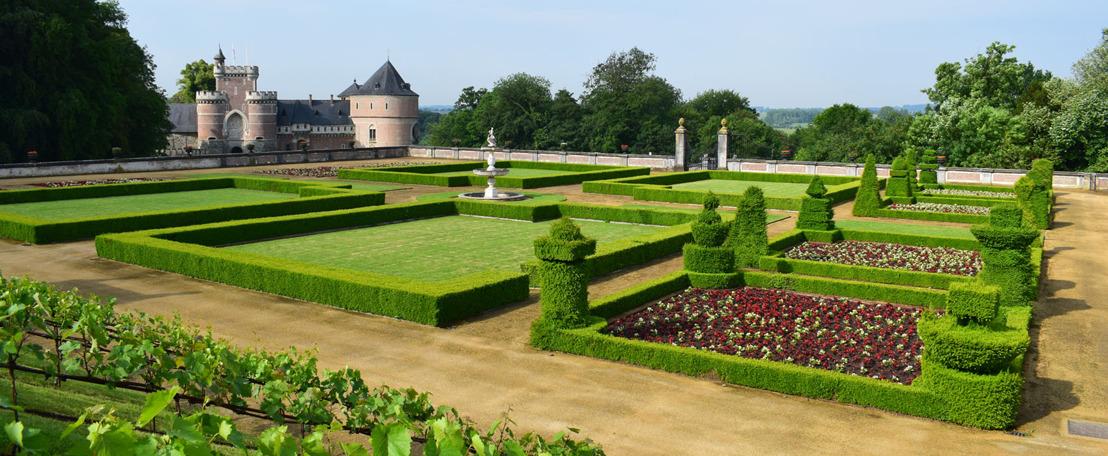 Museumtuin van Gaasbeek vanaf 20 mei opnieuw open voor individuele bezoekers