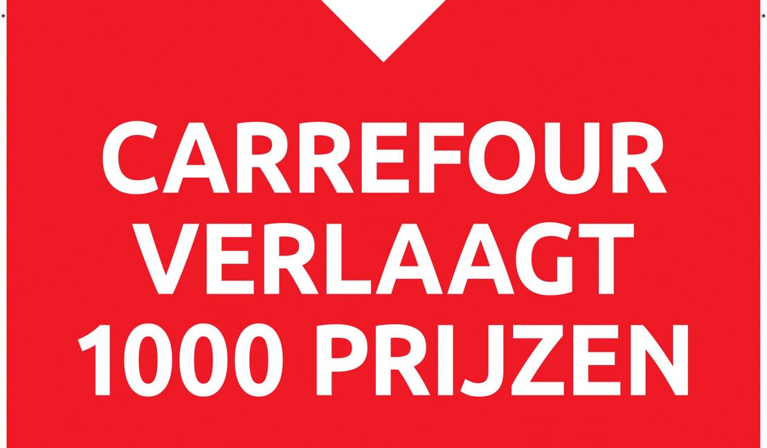 Carrefour verlaagt de prijs van meer dan 1.000 producten