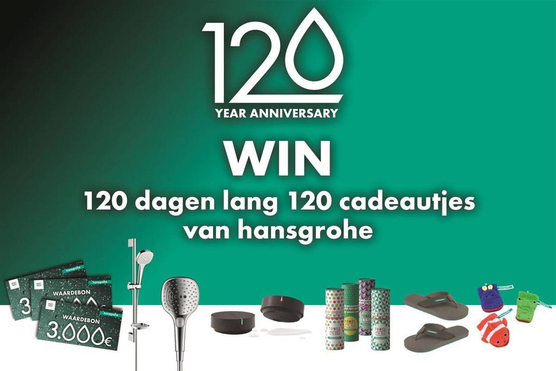 Een bijzonder momentum voor hansgrohe: het merkt viert haar 120-jarig jubileum én 30e verjaardag op de Belgische markt