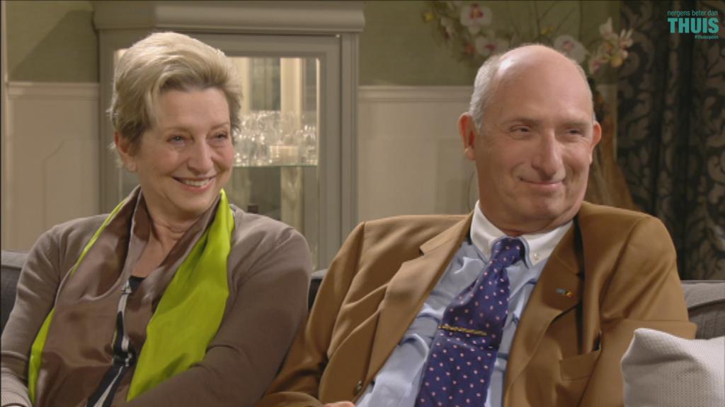 Hélène (Camilia Blereau) en Geert (Peter Rouffaer) (c) VRT