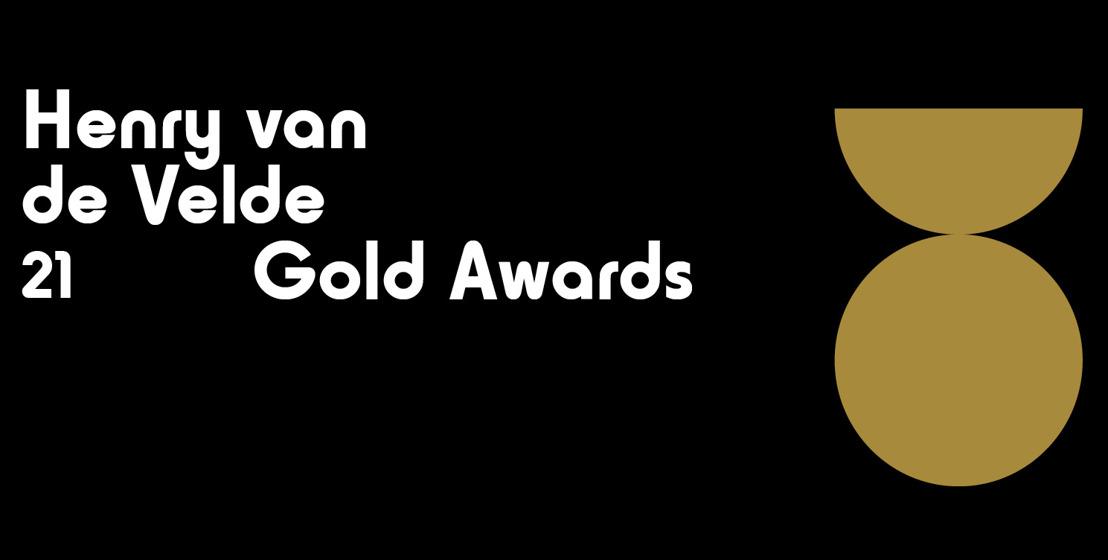 Persinfo: De 12 Henry van de Velde Gold Award winnaars zijn gekend (Embargo tot 5/02, 17u).