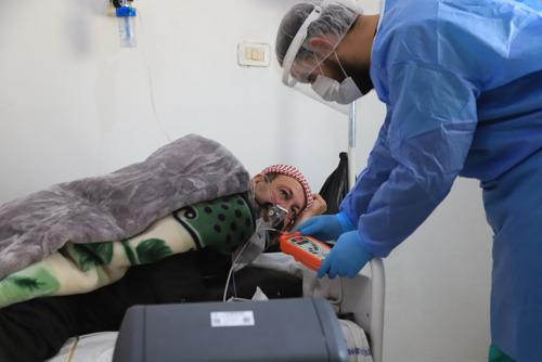 MSF alerta del rápido incremento de casos de COVID-19 en el noroeste de Siria
