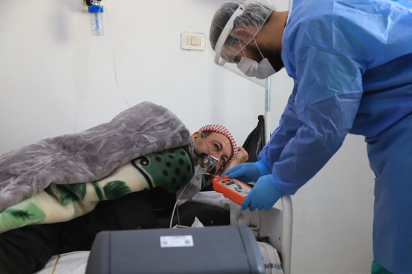 Preview: MSF alerta del rápido incremento de casos de COVID-19 en el noroeste de Siria
